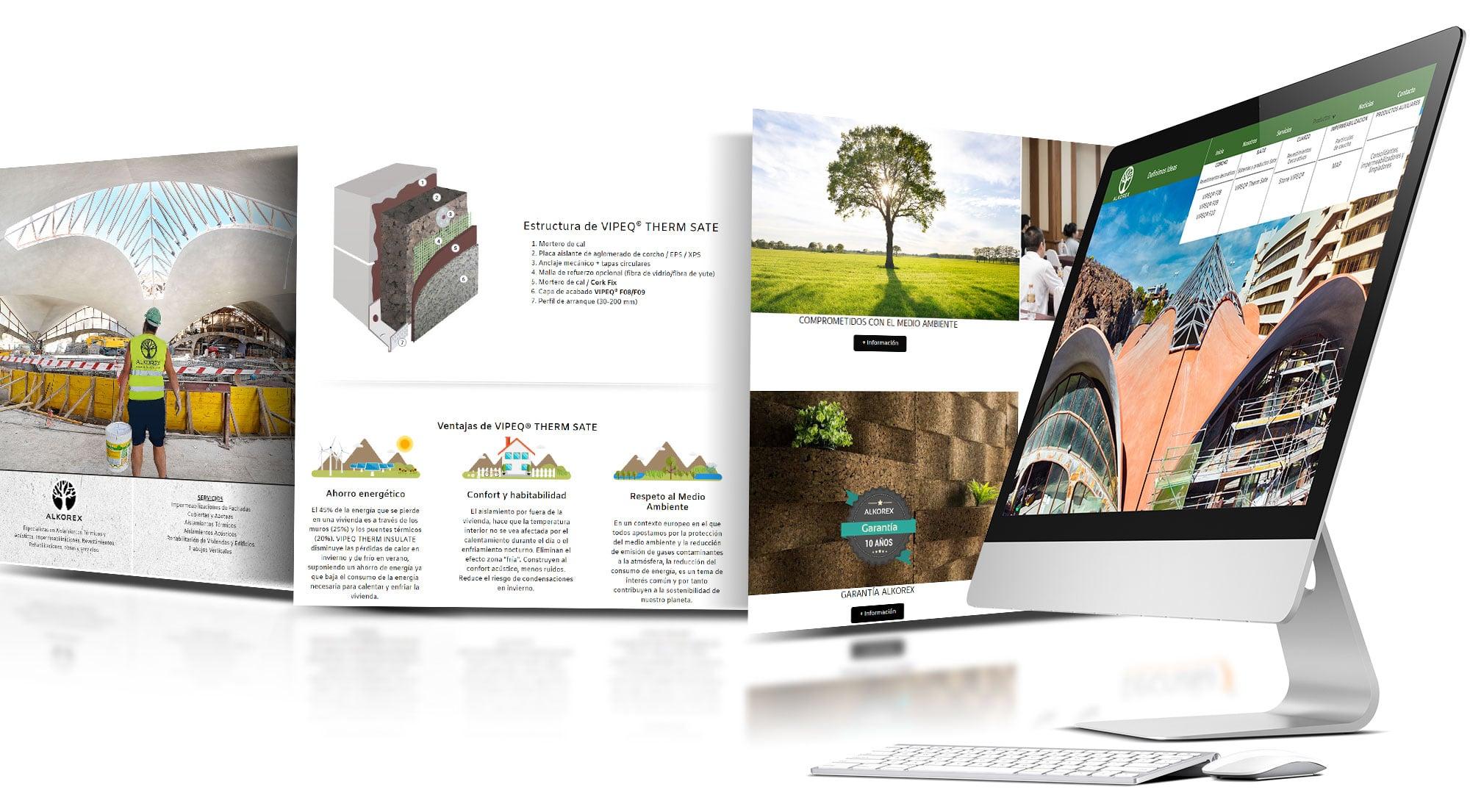 Diseño web alkorex